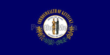 flagge von kentucky korrekte farbdarstellung