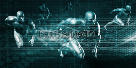 futuristic abstract