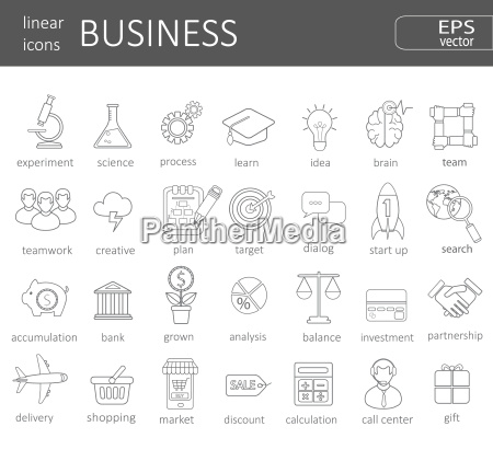 business icons concept