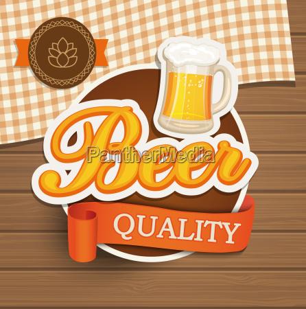 beer quality emblem