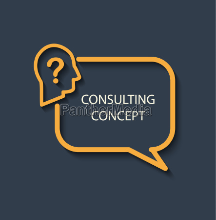 icon for a consulting concept
