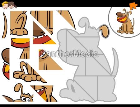 bildung ausbildung bildungswesen illustration puzzle cartoon