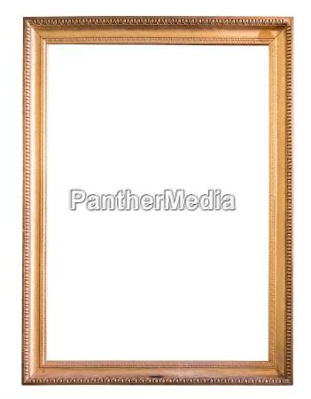 rechteck dekorativer goldener bild rahmen