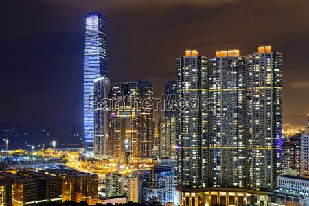 hong kong modern city