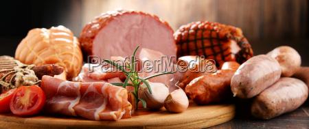 fleischerzeugnisse einschliesslich schinken und wurst