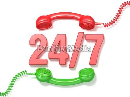 telefon telephon anruf dienst freisteller model