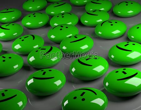 happiness 3d rendering