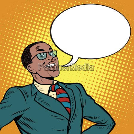 african american businessman says the comic