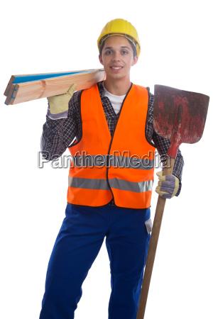 construction worker construction cut