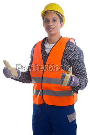 construction worker occupation worker construction thumbs
