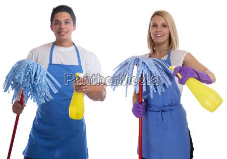 putzfrau putzen reinigen reinigungskraft beruf frau