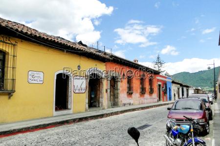 fahrt reisen mittelamerika zentralamerika guatemala pflasterstein