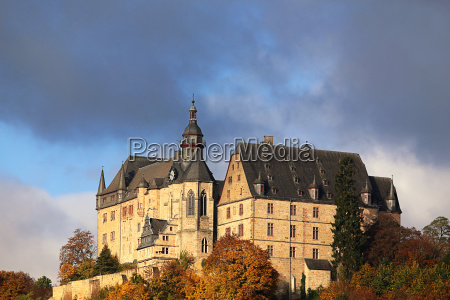 the castle in marburg