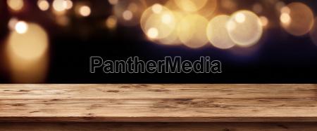 dark panorama with golden glows