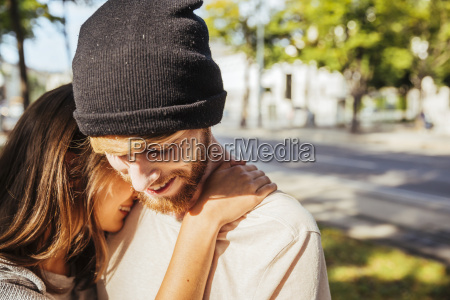 junges paar verliebt