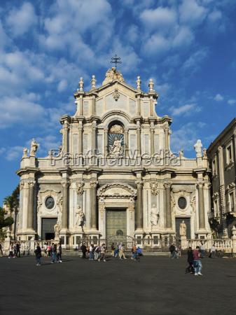 italy sicily catania cathedral of saint