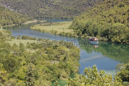 croatia dalmatia sibenik knin excursion boat