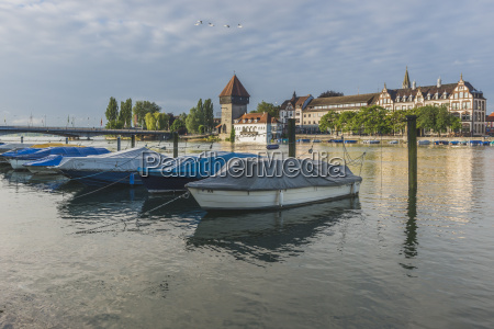 germany constance boats at the seerhein