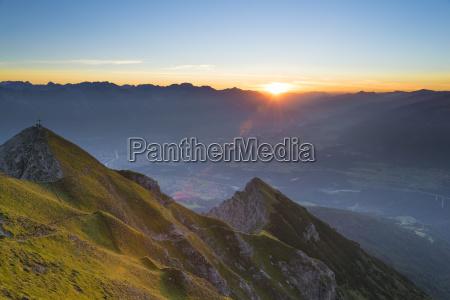 austria tyrol stubai alps saile at