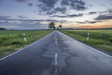 germany lower saxony wolfenbuettel country road