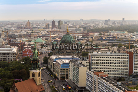 germany berlin city view with berliner