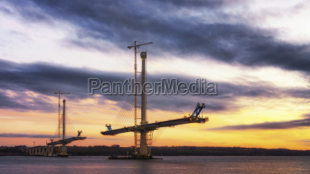 scotland construction of the queensferry crossing