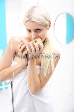 in der dusche natuerliche organische seife