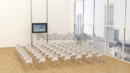buero konferenzraum stadt modern moderne arbeitsstaette