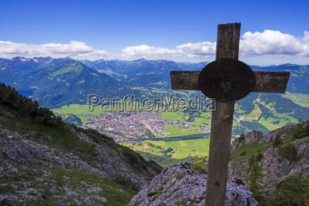 germany bavaria allgaeu allgaeu alps oberstdorf