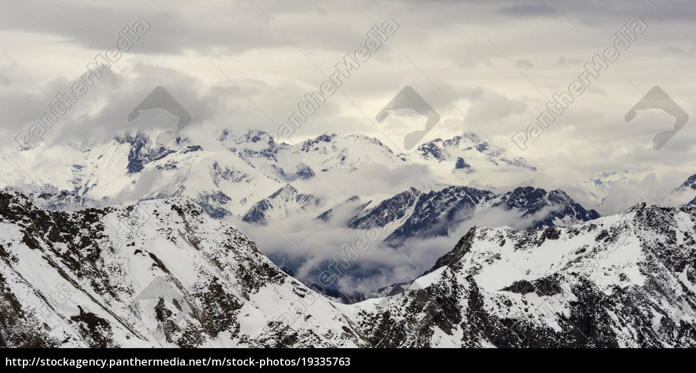 germany, , bavaria, , allgaeu, , allgaeu, alps, , hoefats - 19335763