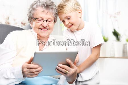 ein besuch in einer grossmutter grossmutter