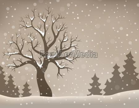 winter tree topic image 2