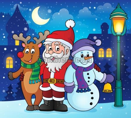 weihnachtscharakter themabild 2