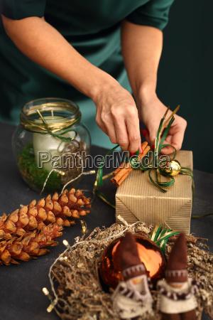 verpackung weihnachtsgeschenke