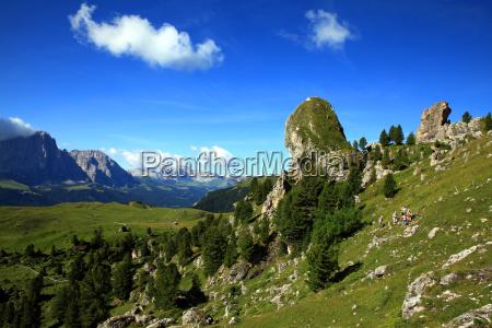 bergwandergruppe