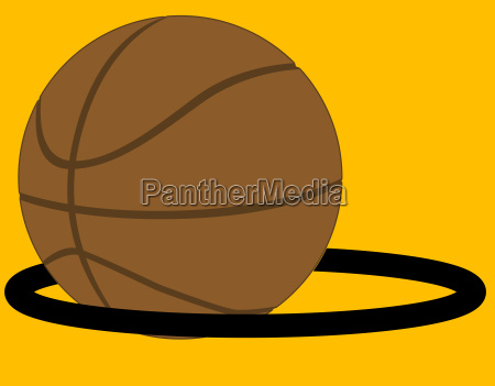 sport ball illustration basketball korbball punktzahl