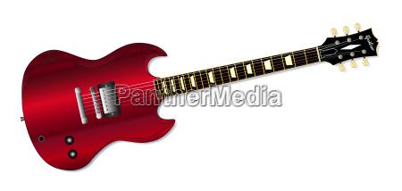 musikalisch holz elektrisch gitarre saiteninstrument musical