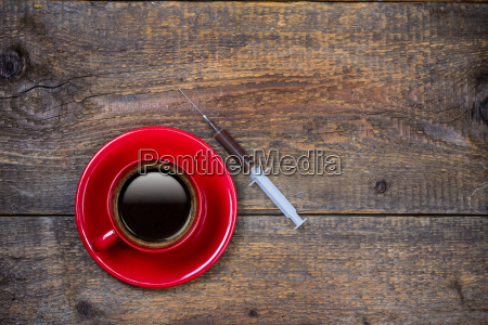 your daily shot of coffee with