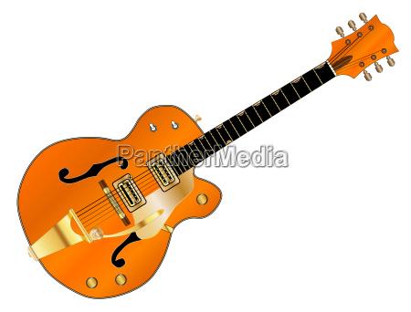 orange country und westerngitarre