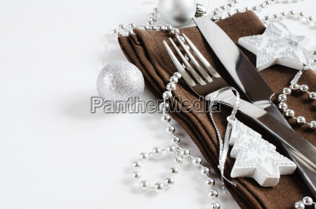 weihnachtstisch platz einstellung urlaub hintergrund