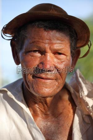 ein brasilianischer farmer