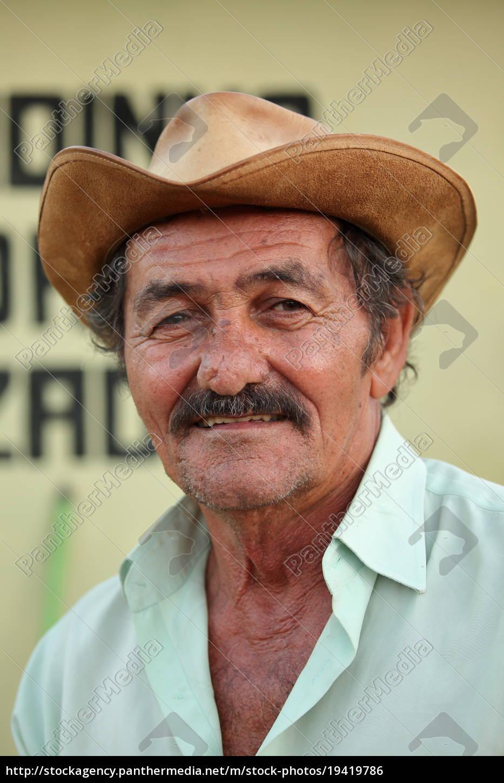 ein, brasilanischer, farmer - 19419786