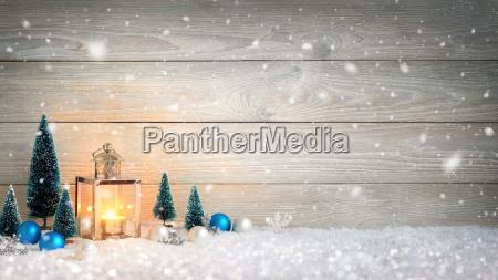 weihnachten, holz, und, schnee, hintergrund, , verziert - 19420190