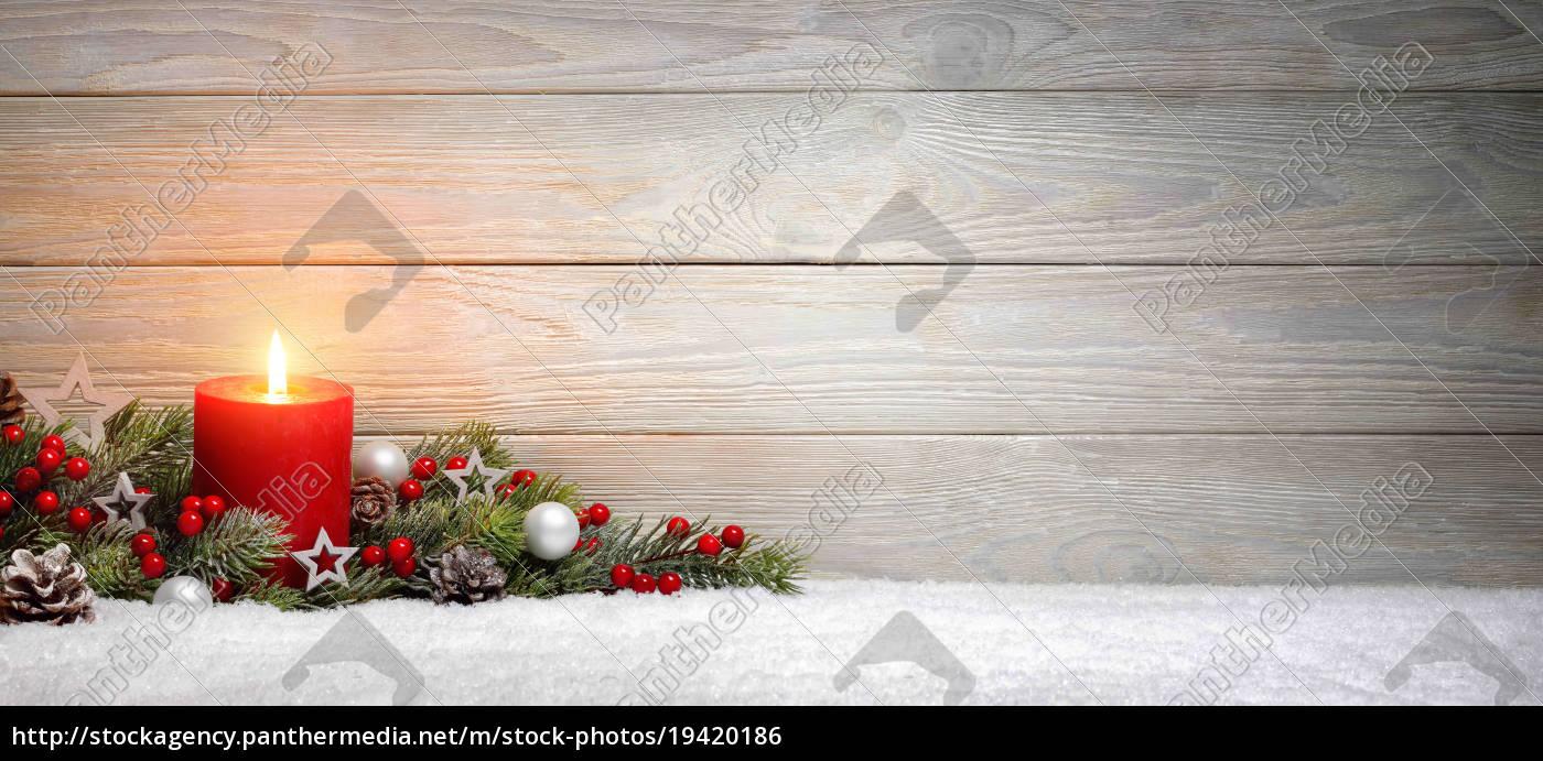 weihnachten, oder, advent, hintergrund:, holz, , eine - 19420186