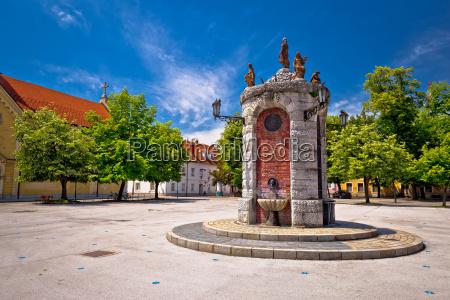 town of karlovac landmarks view