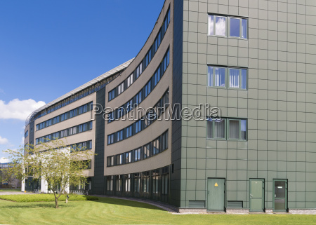 modern office exterior