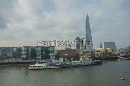 view of the shard and the