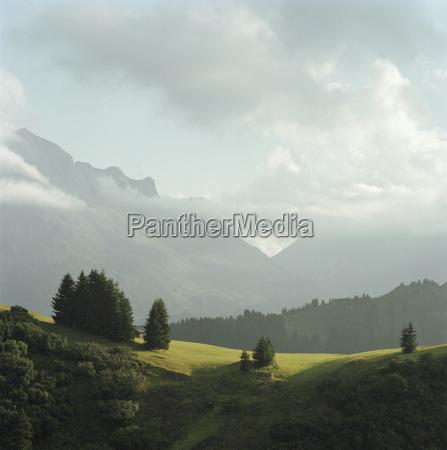 mountains and landscape lech austria