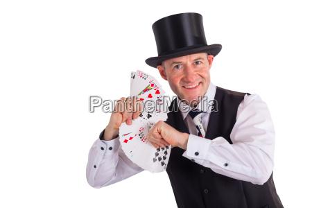 agire illusione casino giocoliere trucco con