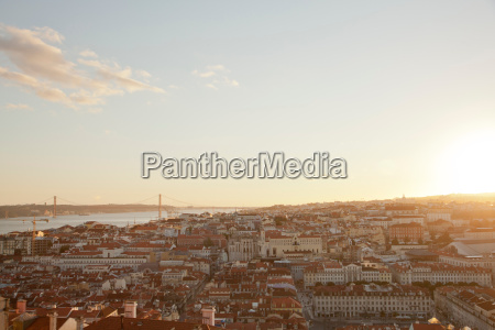 overlooking the alfama district and the